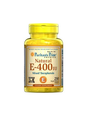 Puritan's Pride Vitamine E-400 iu 250 Softgels 463