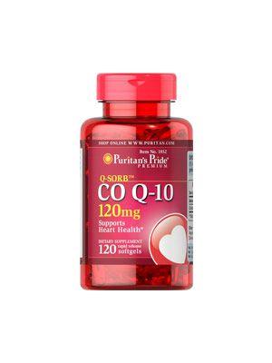 Puritan's Pride Co Q 10 120 mg 120 Softgels 1852