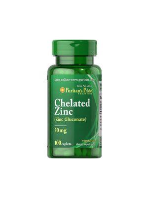 Puritan's Pride Gluconate Zinc 50 mg 100 Tabletten 2060