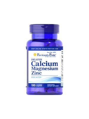 Puritan's Pride Chelated Calcium magnesium Zinc 100 Tabletten 4290