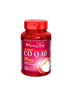 Puritan's Pride Co Q 10 30 mg 200 Softgels 7273