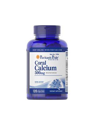 Puritan's Pride Coral Calcium 500 mg plus vitamin & magnesium 120 Capsules 12986