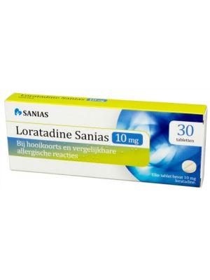 Sanias Loratadine hooikoortstabletten 30 Tabletten