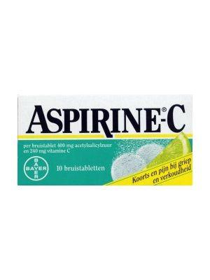 Aspirine 400 mg + C 20 Bruistabletten Bayer