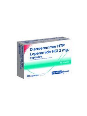 Healthypharm Diarreeremmer 2mg 10 Capsules