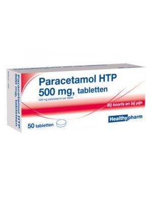 Healthypharm Paracetamol HTP 500mg 50 Tabletten