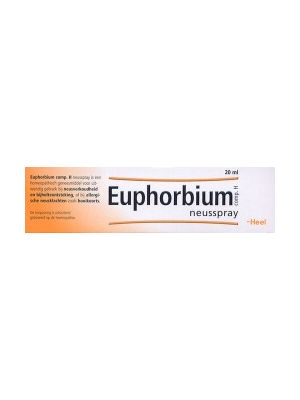 Heel Euphobium neusspray  20 ml