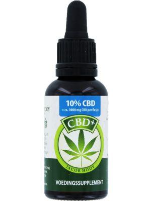 Jacob Hooy CBD+ / Hennepolie (10%) 30 ml