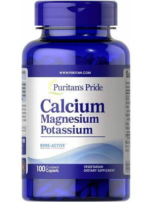 Puritan's Pride Chelated Calcium Magnesium 100 Tabletten 4082