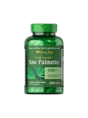 Puritan's Pride Saw Palmetto 450 Mg 200 capsules 3533
