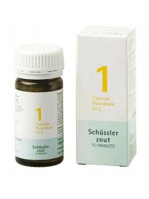 Schussler zout pfluger Nr 1 Calcium floratum D12 100 Tabletten Glutenvrij