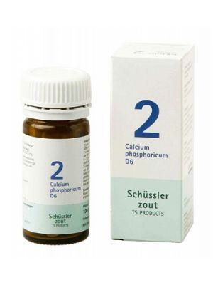 Schussler zout Pfluger nr 2 Calcium Phosphoricum D6 100 Tabletten Glutenvrij