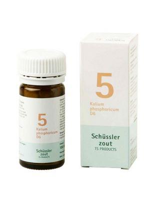 Schussler zout pfluger nr 5 Kalium Phosphoricum D6 100 Tabletten Glutenvrij