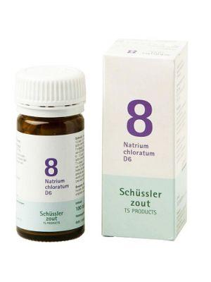 Schussler zout pfluger nr 8 Natrium Chloratum D6 100 tabletten Glutenvrij