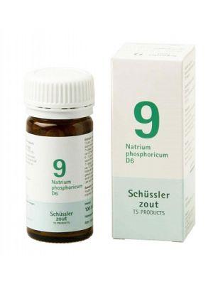 Schussler zout pfluger nr 9 Natrium Phosphoricum  D6 100 Tabletten Glutenvrij