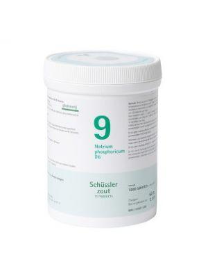 Schussler zout pfluger nr 9 Natrium Phosphoricum  D6 1000 Tabletten Glutenvrij
