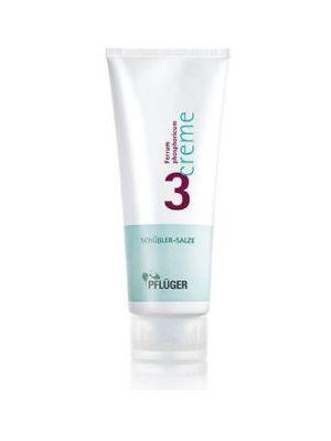 Schussler zouten Creme nr. 3 Ferrum Phosphoricum D4 75 ml Pflüger