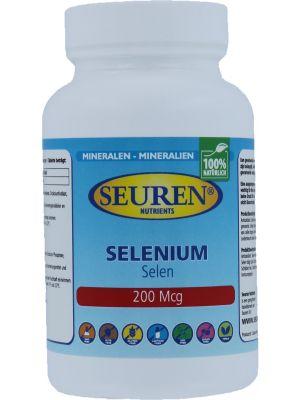 Seuren Nutrients Selenium 200 mcg 200 Tabletten