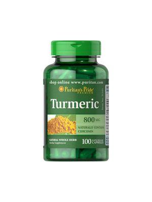 Puritan's Pride Turmeric 800 Mg 100 Kapseln 51441