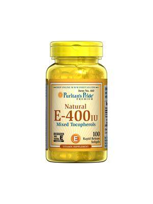 Puritan's Pride Vitamin E-400 iu 100 Softgels 460