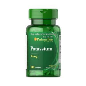 Puritan's Pride Chelated Potassium 99 mg 100 Capsules 1110