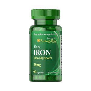 Puritan's Pride Easy iron 28 mg 90 Capsules 1603