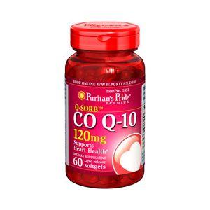 Puritan's Pride Co Q 10 120 mg 60 Softgels 1851
