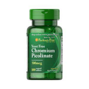 Puritan's Pride Ultra Chromium Picolinate 500 mg 100 Tabletten 2570