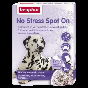 Beaphar No Stress Spot on voor honden 3 Pipetten