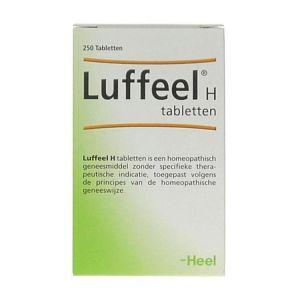 Heel Luffeel hooikoorts 50 Tabletten