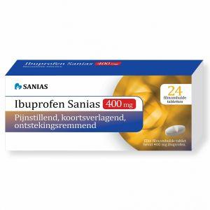 Ibuprofen 400 mg Sanias 24 Tabletten