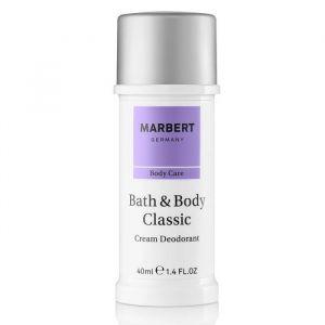 Marbert Bath & Body Deodorant Cream 40 ml