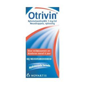 Otrivin Neusdruppels 10 ml