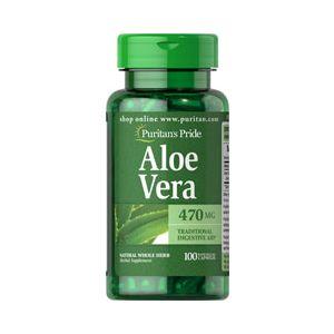 Puritan's Pride Aloe vera 470 mg 100 Capsules 5101