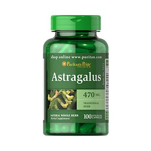 Puritan's Pride Astragalus 470 mg 100 Capsules 3571