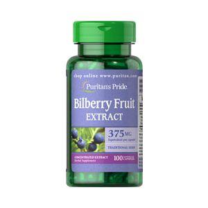Puritan's Pride Bilberry 375 mg 100 Capsules 3451