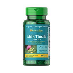 Puritan's Pride Milk Thistle seed 250 mg 100 Capsules 4548