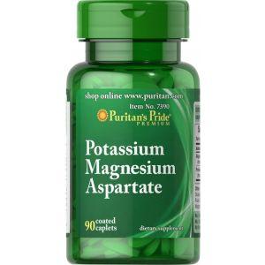 Puritan's Pride Potassium Magnesium Aspartate 90 Tabletten 7390