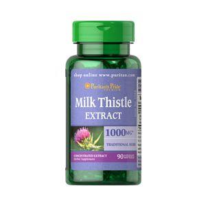 Puritan's Pride Silymarin Milk Thistle 1000 mg 90 Softgels 1944