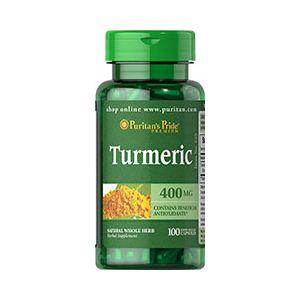 Puritan's Pride Turmeric 400 mg 100 Capsules 525