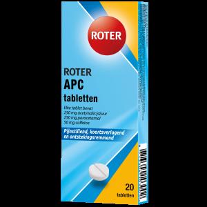 Roter APC tabletten 20 tabletten