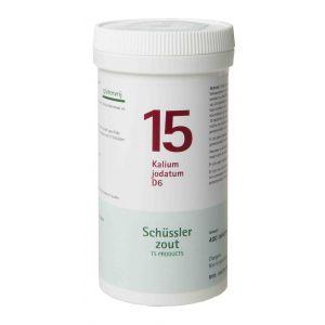 Schussler zout pfluger nr 15 Kalium Jodatum D6 400 tabletten Glutenvrij