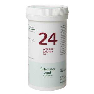 Schussler zout pfluger nr 24 Asenum Jodatum D6 400 tabletten Glutenvrij