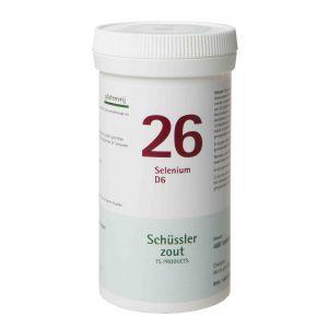 Schussler zout pfluger nr 26 Selenium D6 400 tabletten Glutenvrij