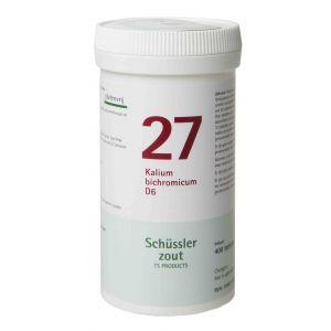Schussler zout pfluger nr 27 Kalium Bichromicum D6 400 tabletten Glutenvrij