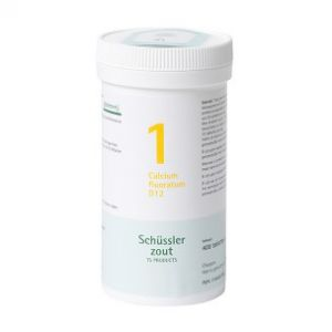 Schussler zout pfluger Nr 1 Calcium floratum D12 400 Tabletten Glutenvrij