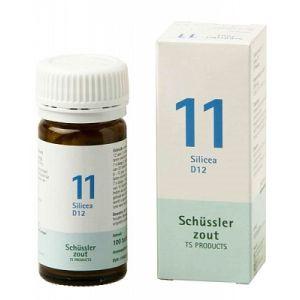 Schussler zout pfluger nr 11 Silicea D12 100 Tabletten Glutenvrij