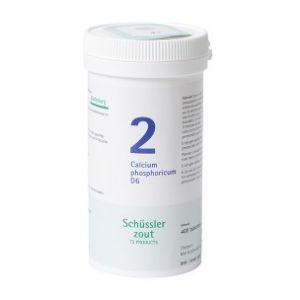 Schussler zout Pfluger nr 2 Calcium Phosphoricum D6 400 Tabletten Glutenvrij