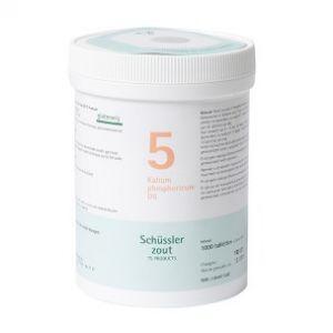 Schussler zout pfluger nr 5 Kalium Phosphoricum D6 1000 Tabletten Glutenvrij