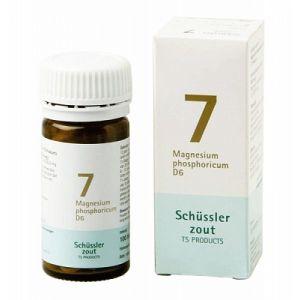 Schussler zout pfluger nr 7 Magnesium Phosphoricum D6 100 Tabletten Glutenvrij